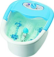 Water Foot Spa, Blue & White,