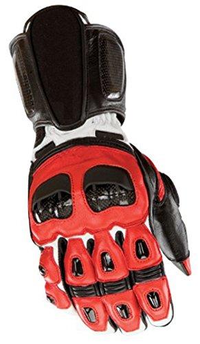 Newfacelook De los hombres Diseñador Motocicleta motorista Impermeable Guantes XL