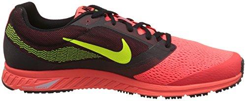 Nike Herren Air Zoom Fly 2 Sport & Outdoorschuhe Naranja / Negro / Amarillo (Bright Crimson / Black-Ht Lv-Vlt)