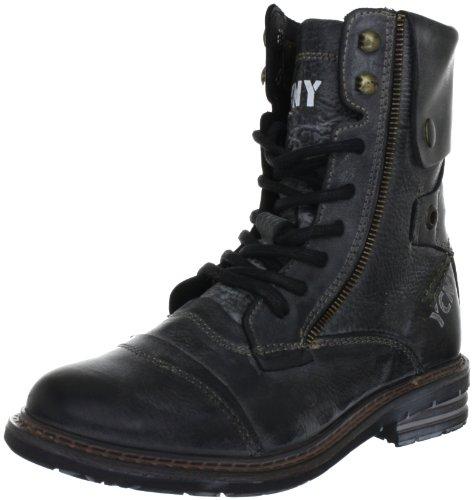 Yellow Cab SOLDIER W, Damen Combat Boots, Schwarz (Black), 39 EU