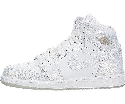 Nike Air Jordan 1 RET Hi Prem HC GG - 832596100 - Farbe: Weiß - Größe: 38.5