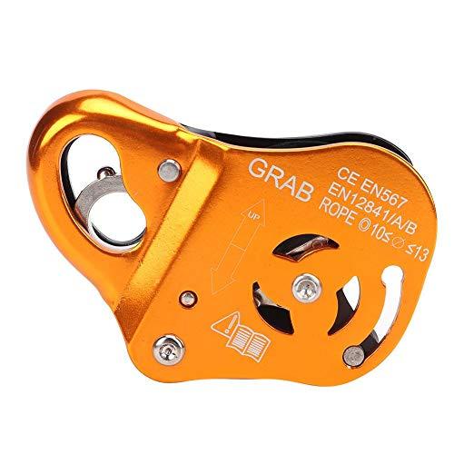 Discensore per arrampicata in lega di alluminio arrampicata corda grab di sicurezza per impieghi gravosi stop attrezzatura per alpinismo all'aperto