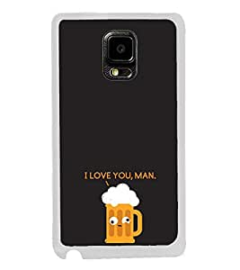 Beer Mug 2D Hard Polycarbonate Designer Back Case Cover for Samsung Galaxy Note Edge :: Samsung Galaxy Note Edge N915FY N915A N915T N915K/N915L/N915S N915G N915D