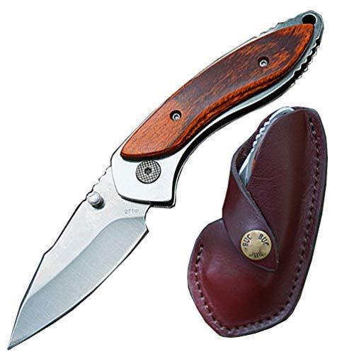 Couteau de poche pliant avec lame de moins de 7,6 cm - Transport autorisé par la loi : (BDM-163)