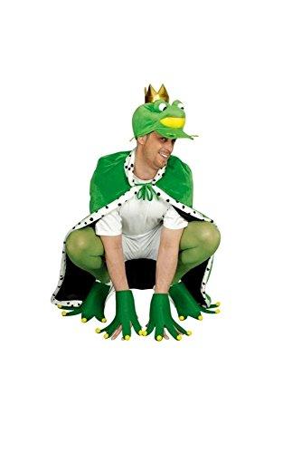 Froschkostüm für Erwachsene (Froschkönig Kostüm)