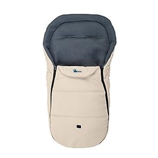 Altabebe AL2450M-03 Sommerfußsack für alle gängigen Kinderwagen, Buggys und Jogger 3D Abstandsgewebe, 12-36 Monate, beige