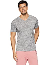 Celio Men's Solid Slim Fit T-Shirt