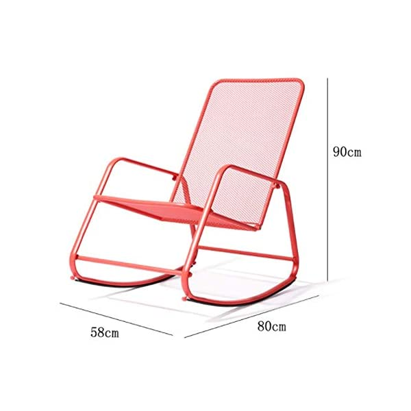 LYATW Leisure Rocking Chair, Leisure Chair, Leisure Nap Elderly Recliner Adult Chair Indoor and Outdoor LYATW After drying, batching, manual grinding and other processes, the lines are exquisite and delicate, the texture is firm and stable, and the compressive strength, static bending strength is good, and durability is durable. Anti-corrosion and light-proof, wear-resistant and dirt-resistant, easy to clean, easy to handle, breathable and skin-friendly Comfortable armrests, fit the human arm line, hand-woven naturally, and the rattan is tight and orderly. 2