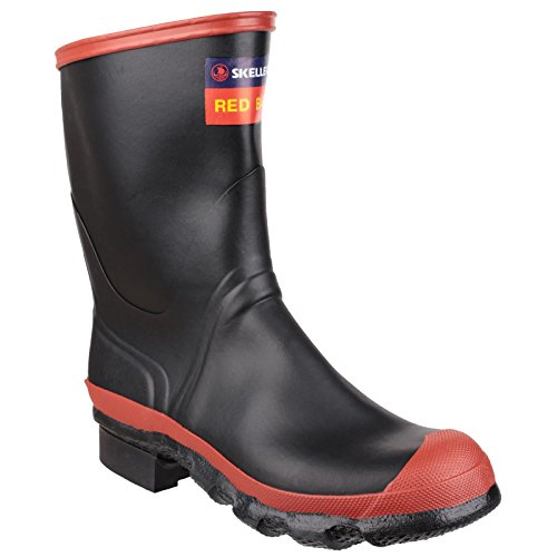 Skellerup RED BAND MEN CALF, Gummistiefel Schwarz