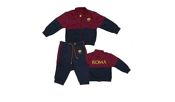 AS Roma Tuta Aperta con Zip R13903-R13877