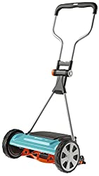 GARDENA Comfort Spindle Mower 400 C: 40 manual lawn mower with working width for up to 250 m² lawn area, high quality steel knife roller, non-contact cutting technology (4022-20)