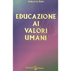 Educazione ai valori umani