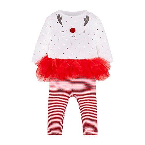 Mothercare Mädchen Kleid Tutu, Rot (Red 51), 74