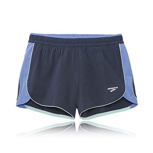Brooks Epiphany III 3.5 Zoll Women's Stretch Laufen Sackartige Shorts Blue