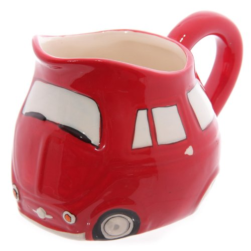 Red Retro Milk Jug voiture