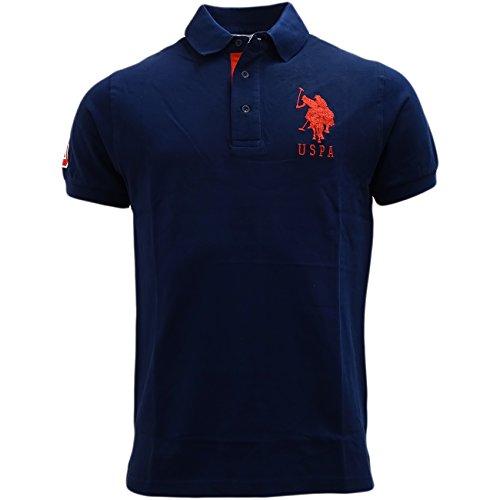 us-polo-assn-polo-uni-col-chemise-classique-manches-courtes-homme-bleu-large