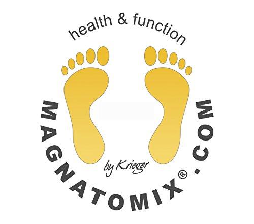 Magnatomix ® Herren Compagnon 07 Gesundheitsschuh / Reflexzonen Massageschuh mit Magnetsohlen Braun