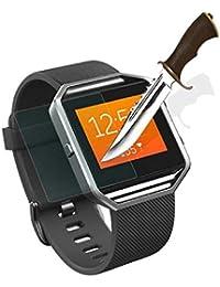 Películas protectoras Sannysis Protector de pantalla de vidrio templado para Fitbit Blaze Reloj inteligente (1PC)