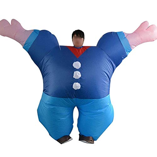XSWZAQ Aufblasbares Kostüm |Aufblasbare Kostüme for Erwachsene oder Kinder |Halloween-Kostüm |Blow Up Kostüm -