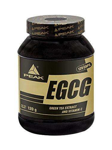 Peak - EGCG - Grüntee Extrakt - 120 Kapseln (95% Extrakt)