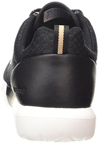 Le Coq Sportif - Dynacomf W Feminine Mesh, Sneaker Donna Nero (Noir (Black/Rose Gold))