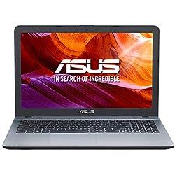 "ASUS R540MA-GQ757 - Portátil de 15,6"" (Celeron N4000, 4GB RAM, 256GB SSD, Endless OS Inglés) Plata Degradado - Teclado QWERTY español"