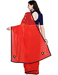cf9024ce5d Georgette Women's Sarees: Buy Georgette Women's Sarees online at best  prices in India - Amazon.in