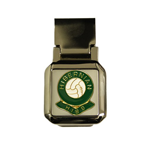 - Set Hibernian Hibs Football Club Scharnier chrom Geld Clip (Executive-geld-clip)
