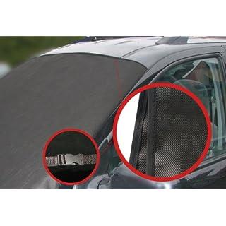 LP A172 Scheibenabdeckung Frostabdeckung Frontscheibe Abdeckung Winterschutz 157cm x 88cm für Windschutzscheibe MIT KLICKVERSCHLUSS-NEUHEIT