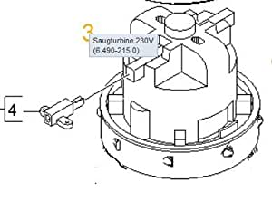Kärcher 6.490-215.0 Turbine d'aspirateur 230 V