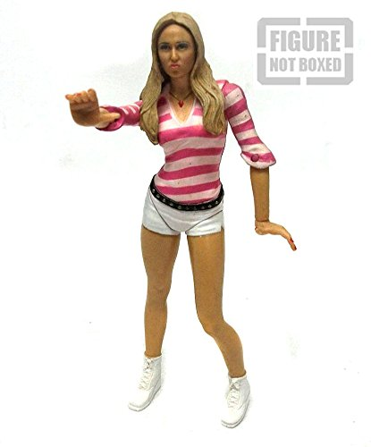 WWF WWE TNA Wrestling Classics Diva Stacy kiebler 15,2cm Figur Rare [nicht verpackt]