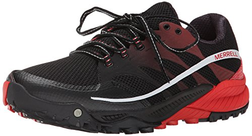 Merrell All Out Charge Herren Trekking- & Wanderhalbschuhe Noir (Black/Molten Lava)