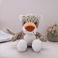 lzpoyaya Cartoon leopard Plush Toy For Children, Stuffed Animals Dolls, Soft PP Cotton Pillow, Birthday for Kids 40cm