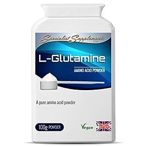 Specialist Supplements L-Glutamine Amino Acid Powder 100g