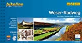 Weser-Radweg: Von Hann. Münden nach Cuxhaven, 1:50.000, 522 km (Bikeline Radtourenbücher) -