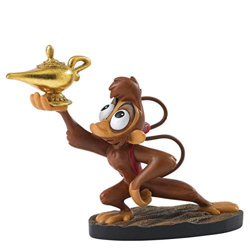 Preisvergleich Produktbild Enchanting Disney A28076 Mischievous Thief - Abu Figurine, Resin, mehrfarbig, 14 x 7 x 11 cm