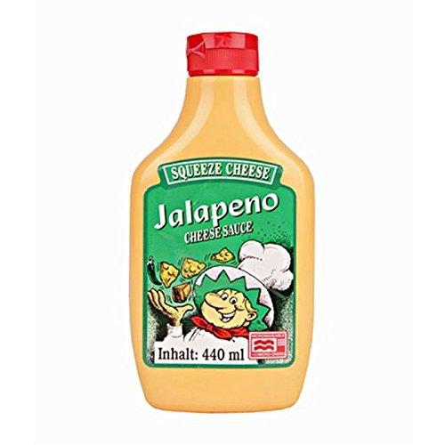 CMC The Food Company Jalapeno Käse Squeeze 440ml mikrowellengeeignet