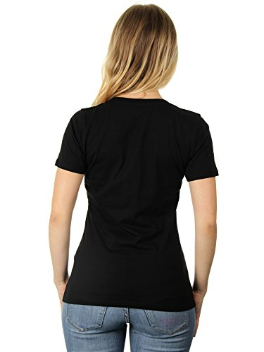 Never Rest Keep Rising - Damen T-Shirt von Kater Likoli Deep Black