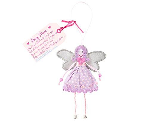 Believe You Can Fair-Trade-Feen - Fee Mutter - Fairy Mum - Perle Silber Beine