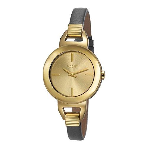 Joop! - JP101652003 - Montre Femme - Quartz - Analogique - Bracelet cuir gris