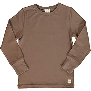 Maxomorra - Jersey para bebé (Manga Larga, algodón Bio), Color marrón 11
