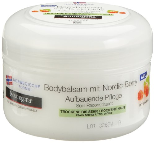 Neutrogena Nordic Berry Bodybalsam, 3er Pack (3 x 200 ml)