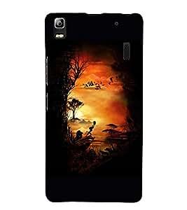 Painting 3D Hard Polycarbonate Designer Back Case Cover for Lenovo K3 Note :: Lenovo A7000 Turbo