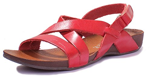 Justin Reece 7190, Sandales Pour Femme red