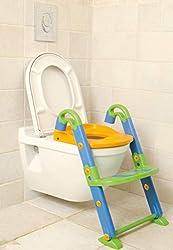 Dreambaby F600 Toiletten-Trainer Töpfchen faltbarer Toilettensitz für Kinder Kindertoilette mit Leiter 3-in-1 mehrfärbig