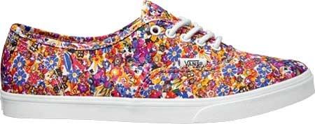 Pro Damen Vans Autênticos Mehrfarbig floral Sneakers Lo 1zxBnwqH