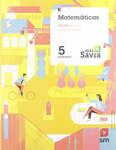 Matemáticas 5 Primaria Más Savia Murcia