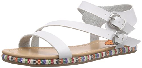 Rocket Dog - TAILSPIN, espadrillas da donna, bianco (Blanc (Coronado)), 7 UK