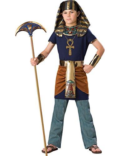 Kostüm für Kinder - Deluxe 128/134 (8-9 Jahre, L) (ägyptische Kostüme Kind)