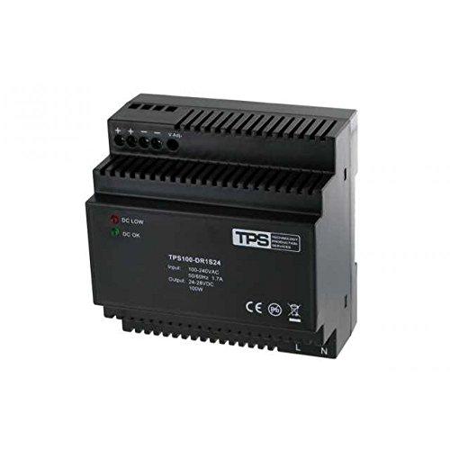 TPS Elektronik - TDR100-24VK fuente de alimentación carril DIN, estabilizado, 24V, 100W